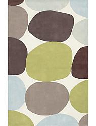 acryliques tapis tuftés avec motif de rondeur 3 '* 5'