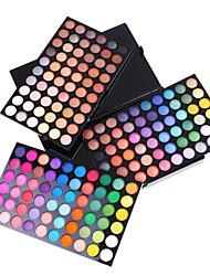 180 couleurs de la palette de fard à paupières professionnel