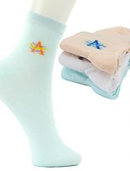 Women's Comfort Fit Tube Socks (3 pairs)
