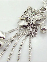 Silver Crown Necklace and Key Chain