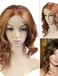 piena del merletto (merletto francese) in stile 100% dei capelli umani remy Jessica Biel parrucca