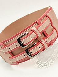 double boucle élastique large ceinture (plus de couleurs)