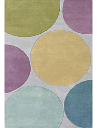 хохолком шерсти ковры области с округлостью модель 3 '* 5'