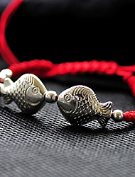 Chinese Vintage Kiss Fish Bracelet
