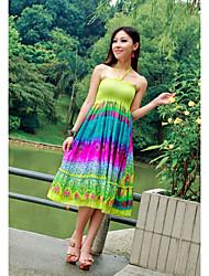 Chiffon Halter Neck Maxi Dress (More Colors)