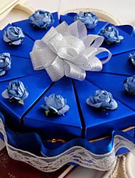 синяя коробка пользу торт с кружевом (набор из 10)