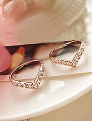 Crystal Heart Ring