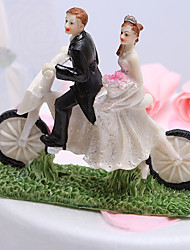 toppers torta ciclismo sposi cake topper