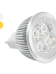 GU5.3 4 W 4 High Power LED 360 LM Warm White/Cool White MR16 Spot Lights DC 12 V