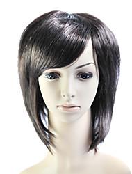 Capless Short 100% Heat Friendly Fiber Natural Look Hair Wig
