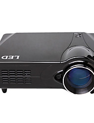 1080P Portable HD DVB-T USB LED Projector with TV Tuner HDMI