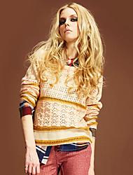 suéter design floral