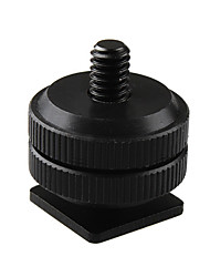 "Pro Type 1/4""-20 Tripod screw to Flash Hot Shoe Adapter"
