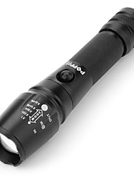ls868 5-Mode del CREE XM-L T6 LED torcia elettrica (1000lm, 3xAAA)