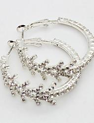 Gold Crystal Teardrop Earrings