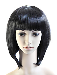Capless Bob Style 100% Heat Friendly Fiber Straight Hair Wig