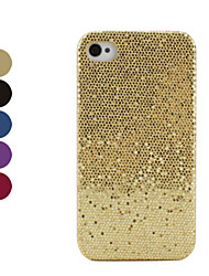 Custodia luccicante per iPhone 4 e S - Colori assortiti