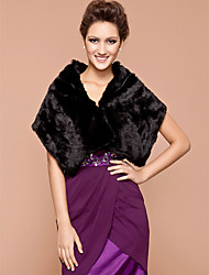 Party/Evening Feather/Fur Fur Wraps Shawls