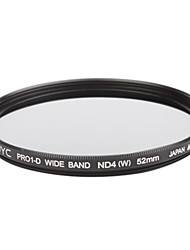 Genuine JYC Super Slim High Performance Wide Band ND4 Filter 52mm