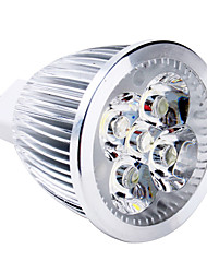 4W GU5.3(MR16) LED Spotlight MR16 5 High Power LED 110 lm Warm White DC 12 V