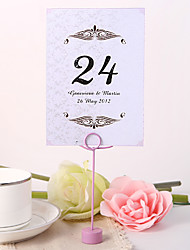Personalized Table Number Card - Simple Design