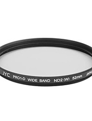 Genuine JYC Super Slim High Performance Wide Band ND2 Filter 52mm