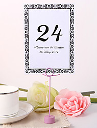 Personalized Table Number Card - Timeless
