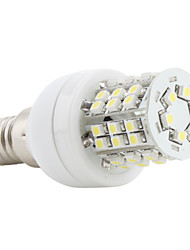 3W E14 Bombillas LED de Mazorca 48 SMD 3528 150 lm Blanco Natural AC 100-240 V