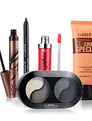 adicional valor de face olho conjunto de maquiagem lábio