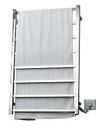 70w elegância parede quadrado warmmer toalha tubo de secagem cremalheira
