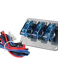 Flip-up 8-Switch Panel for Sport Racing Car