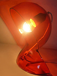 Table Light with 1 Light in Red