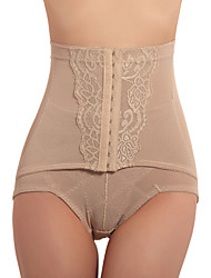 Patterned High Waist Chinlon Shaping Panty Sexy Lingerie Shaper