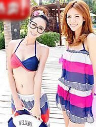 Kleidungsstil Bikini-Badeanzug