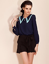TS Vintage Dramatic Collar Blouse Shirt (More Colors)