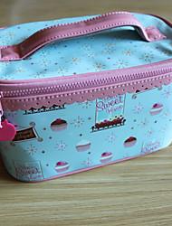 Cute Ice Cream Design Waterproof Cosmetic Bag(22.4cm*12cm*14cm)
