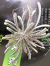 Diamond Flower Style Brooch
