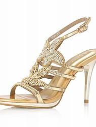 Echtleder Pfennigabsatz Slingbacks Hochzeit / Party-Abend Schuhe (weitere Farben erhältlich)