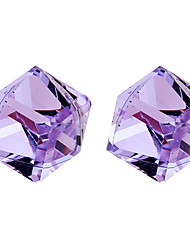 lureme®crystal Wasserwürfel Ohrringe