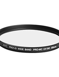 véritable JYC super-performances mince numérique haute multicouches uv 55mm filtre