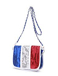 Франция флаг цвета креста тело мешок (26см * 19см * 10см)