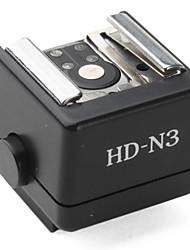вспышка горячий башмак адаптер HD-n3