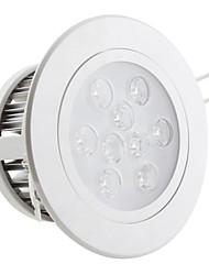9W 800lm 7000-7500K Холодный белый свет привел потолком лампочка (85-265В)