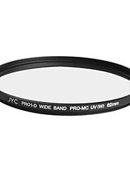 véritable JYC super mince multicouche haute performance numérique filtre UV 62mm