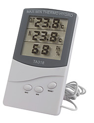 Indoor Outdoor Thermometer with Hygrometer