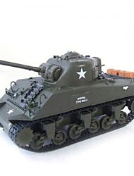 1/30 M4A3 Sherman Fernbedienung RC Battle Tank RTR (yx00539)