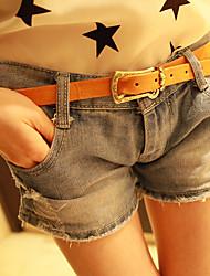 усы эффект джинсовой коротких штанишках