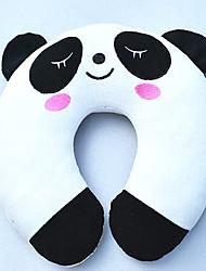 panda padrão travesseiro em forma de u de pelúcia