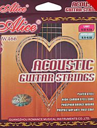 Alice - (aw466-l) de aço cordas da guitarra acústica (012-053)