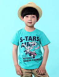 мультфильм выводит мальчика с коротким рукавом
